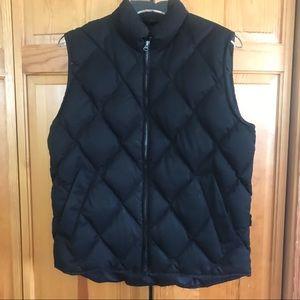 Eddie Bauer Goose Down Quilted Puffer Vest XS